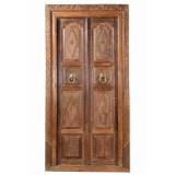 DOORS TEAK IN FRAME (JV057)