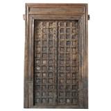 DOORS TEAK IN FRAME (JV063)
