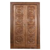 DOORS TEAK IN FRAME (JV071)