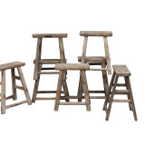 STOOL, WORKERS RECTANGULAR (DH062)