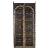DOORS STEEL WITH BRASS DETAIL (JX033)