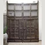 GATES, TEAK, PAIR (JX231)
