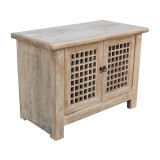 CABINET WITH SLATTED DOORS (DM108)