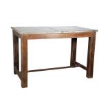 BAR TABLE ZINC TOP (JZ221)