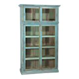 CABINET TEAK, W/ SLIDING DOORS (JZ300)