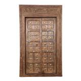 PAIR OF INDIAN DOORS (JZ400)