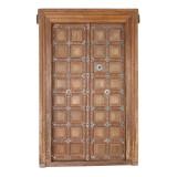 PAIR OF INDIAN DOORS (JZ404)