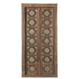 PAIR OF INDIAN DOORS (JZ409)