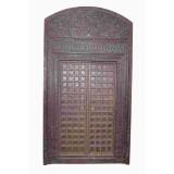 PAIR OF INDIAN DOORS (JZ412)