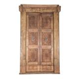 PAIR OF INDIAN DOORS (JZ416)