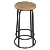 BAR STOOL ELM TOP (F063)