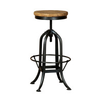 BAR STOOL ADJUST' INDUSTRIAL (F018)