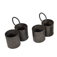 2 POT IRON PLANTER (JK185)