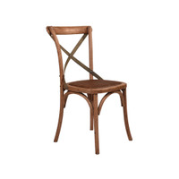 CROSS BACK CHAIR OAK, LITE ST (CBC02)