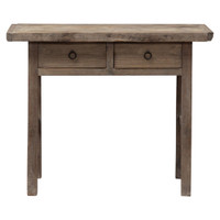 CONSOLE TABLE 2 DRAWER (DF007)