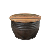 COFFEE TABLE DRUM (JT119)