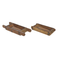 BRICK MOLD TEAK SINGLE (JT182)