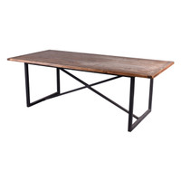 DINING TABLE RECLAIMED TIMBER (F140)