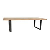 DINING TABLE INDUSTRIAL WALNUT (F110)