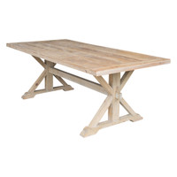 DINING TABLE RECLAIMED TIMBER (ET1224)