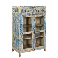 CABINET, 2 DOOR, 2 DRAWER (JV029)
