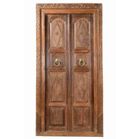 DOORS TEAK IN FRAME (JV057)