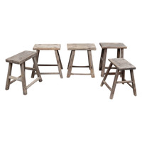STOOL, WORKERS RECTANGULAR (DH047)