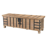 CHEST LIFT TOP, BLEACHED TEAK (JX058)