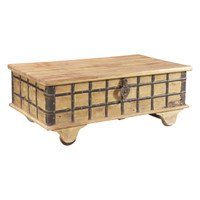 CHEST LIFT TOP, BLEACHED TEAK (JX062)