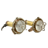 VINTAGE BRASS SHIP'S LIGHT (JX161)