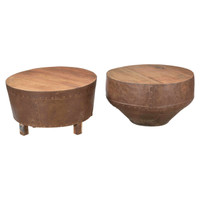 COFFEE TABLE DRUM (JX162)