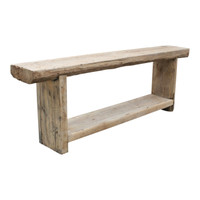 CONSOLE TABLE RUSTIC (DK094)