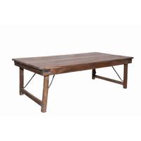 COFFEE TABLE, FOLDING, TEAK (JZ017)