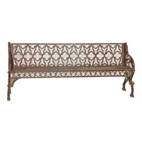 CAST IRON BENCH (JZ331)