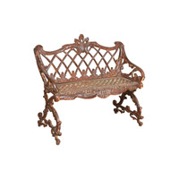 CAST IRON BENCH (JZ334)