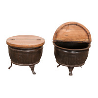 DRUM COFFEE TABLE (JZ339)