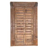 PAIR OF INDIAN DOORS (JZ401)