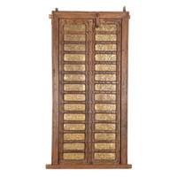 PAIR OF INDIAN DOORS (JZ402)