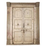 PAIR OF INDIAN DOORS (JZ403)