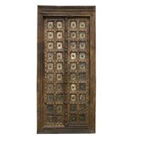 PAIR OF INDIAN DOORS (JZ410)