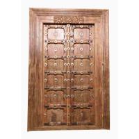 PAIR OF INDIAN DOORS (JZ411)