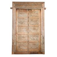 PAIR OF INDIAN DOORS (JZ418)