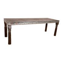 TABLE ZINC TOP (KA067)