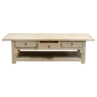 COFFEE TABLE 3 DRAWER (DN106)