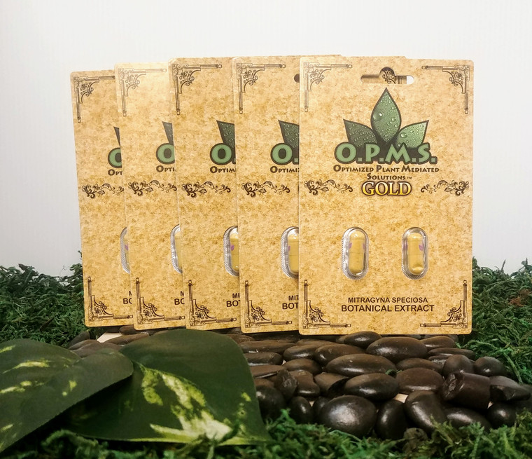 5 O.P.M.s. Gold 2ct Cards, 10 Capsules, $8.70 per Capsule
