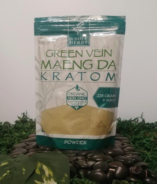 Whole Herbs Green Vein Maeng Da - 8oz Powder