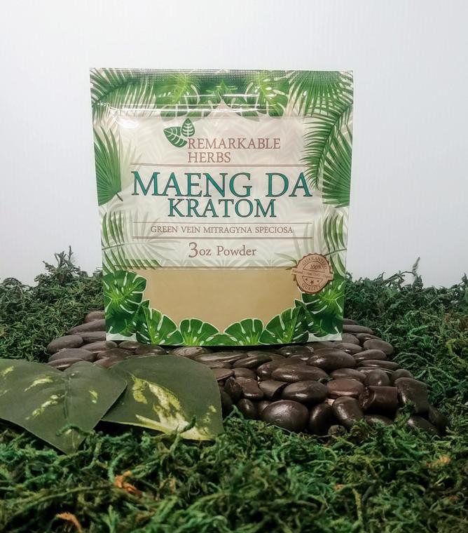 Remarkable Herbs Green Maeng Da - 3oz