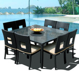 Nicole 9-Piece Square Dining Set