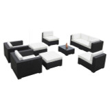 Vilano 9-Pc Sofa Sectional