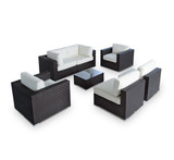Vilano 7-Piece Sectional Sofa Set